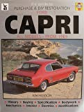 img - for Guide to Purchase and D.I.Y.Restoration of Ford Capri by Kim Henson (1989-09-15) book / textbook / text book