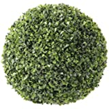 Artif-deco - Boule de buis artificiel classique d 18 cm int /ext anti uv - choisissez votre taille: d 18 cm