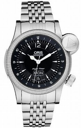 Oris Men's 635 7568 4064MB Flight Timer Day Date Automatic Watch