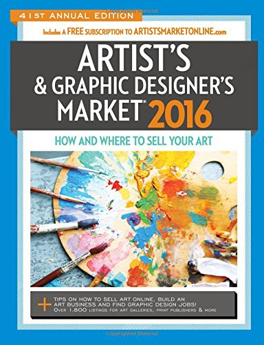 2016 Artist's & Graphic Designer's Market, by Mary Burzlaff Bostic