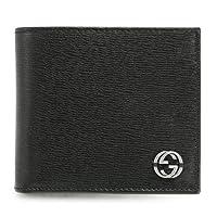 (グッチ) GUCCI 二つ折財布 メンズ CHELSEA SHANGAI チェルシー レザー ブラック 256336 ARU0N 1000 [並行輸入品]