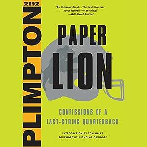 Paper Lion Audiobook