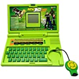 A R Enterprises English Learning Laptop,Green