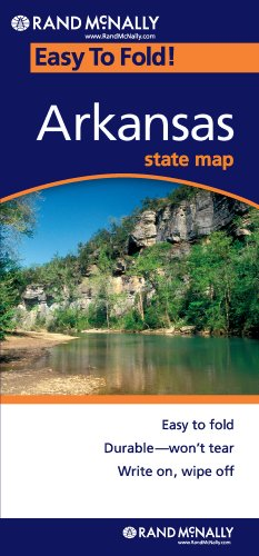 Rand McNally Arkansas Easy to Fold (Laminated)