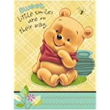 Baby Pooh and Friends Baby Shower Invitations (8 count)