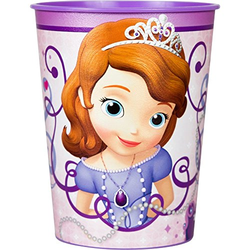Disney Junior Sofia the First 16 oz. Plastic Cup - 1