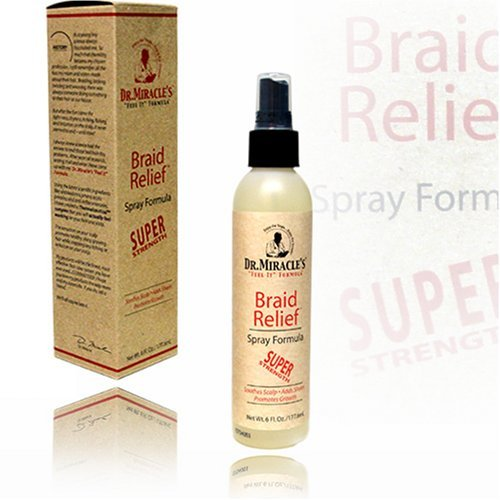 Dr. Miracle's Braid Relief Spray, Super Formula