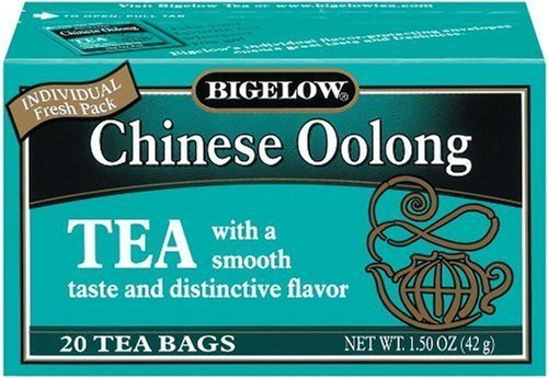 Bigelow Chinese Oolong Tea, 20-Count Boxes (Pack of 6)