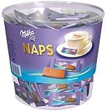 """Milka Naps Alpenmilch Dose 207 Stück """"Ideal fürs Büro"""", 1er Pack (1 x 1 kg)"""