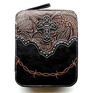 Bible Cover for Men or Women Large Western Designer