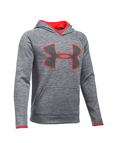 Under Armour Boys' UA Storm Armour Fleece Twist Highlight Hoodie Youth Large Graphite