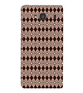 EPICCASE black diamond Mobile Back Case Cover For Mi Redmi 2s (Designer Case)