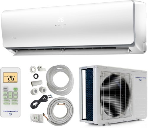 Small Heating And Cooling Units : Thermocore systems seer energy star ductless mini split