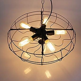 21 vintage loft fan shape restaurant ceiling pendant