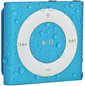 Waterfi 100% Waterproof iPod Shuffle with Dual Layer Waterproof/Shockproof Protection (Blue)