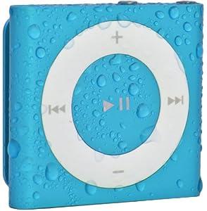 Waterfi 100% Waterproof iPod Shuffle with Dual Layer Waterproof/Shockproof Protection (Blue)
