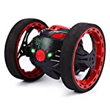 GearBest 2.4GHz Wireless Remote Control Jumping RC Toy Cars for Kids No WIFI (Black)