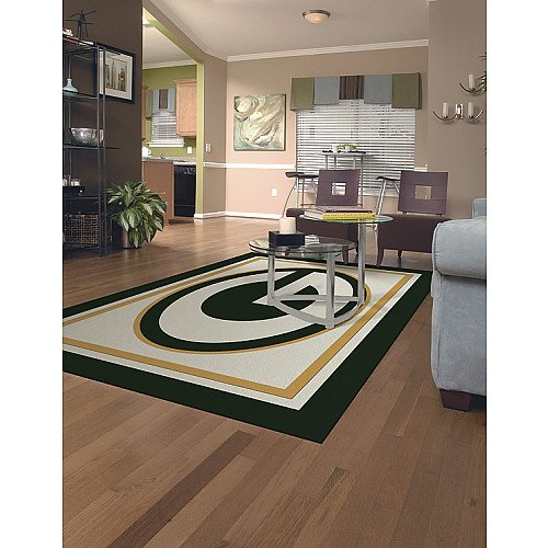 Miliken & Company Green Bay Packers 3-Ft. 10-In. x 5-Ft. 4-In. Spirit Area Rug