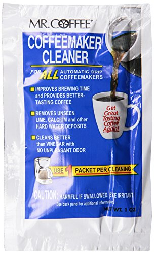 Mr. Coffee Coffeemaker Cleaner - For All Automatic