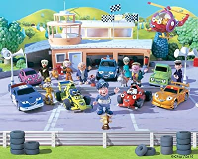 Roary The Racing Car Wallpaper Mural by Walltastic Ltd