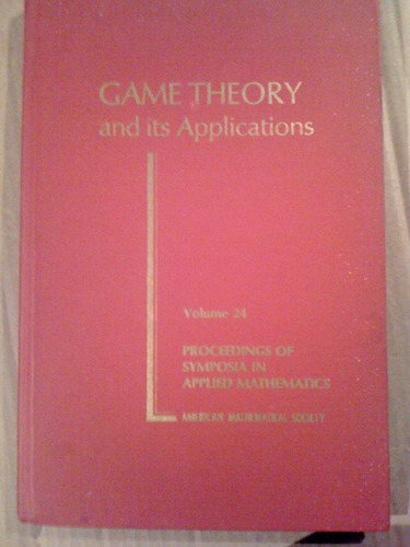 Game theory and its applications [electronic resource]