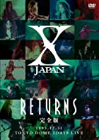 X JAPAN RETURNS ������ 1993.12.31 [DVD](�߸ˤ��ꡣ)