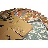 Origami Paper 200 sheets Designer Pattern Gift Pack
