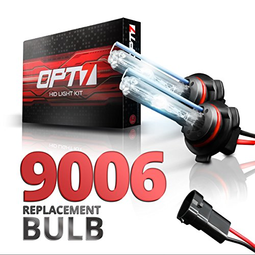 OPT7 Blitz 9006 Replacement HID Bulbs Pair [8000K Ice Blue] Xenon Light (8000 Hid Replacement compare prices)