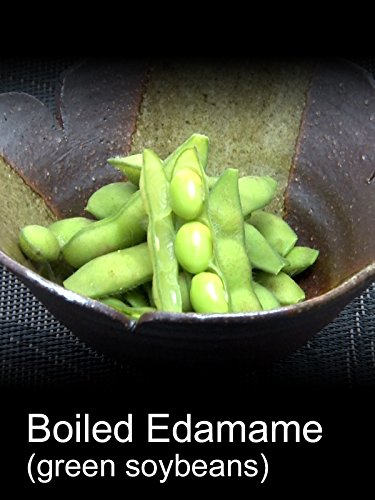 Boiled Edamame (green soybeans)