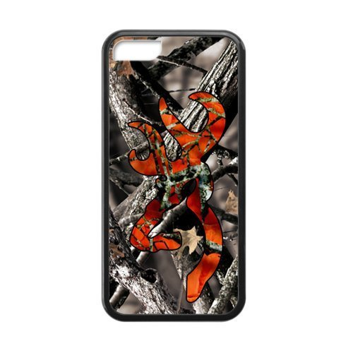 Browning Camo Deer Hunter Cell Phone Case for Iphone 5C