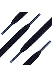 Shoe String King Flat Shoelaces for Sneakers, Boots and Shoes - Chose your colors and size