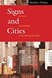 img - for Signs and Cities: Black Literary Postmodernism book / textbook / text book
