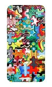 ZAPCASE PRINTED BACK COVER FOR OPPO F1S Multicolor