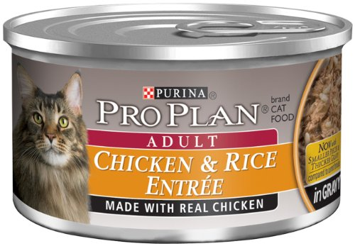 Pro Plan Canned Cat Food, Adult Chicken and Rice