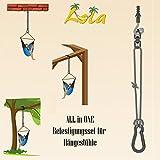Lola Power Set für Hängestühle 160kg Hängesesselbefestigung Aufhängeset