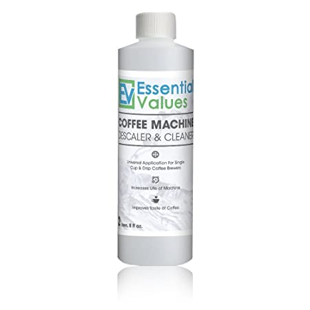 Keurig Descaler, Universal Descaling Solution & Coffee Maker Cleaner For Keurig, Delonghi, Nespresso And All Single Use, Coffee Pot & Espresso Machines at amazon
