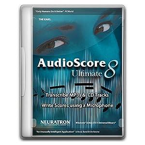Avid AudioScore Ultimate 8 楽譜作成ソフト (アビッド) 国内正規品