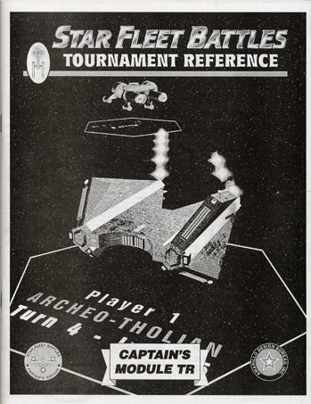 Star Fleet Battles Module TR: Tournament Reference Handbook