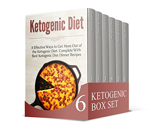 Ketogenic Diet Box Set: Delicious Diet Recipes to To Reduce Your Weight (ketogenic diet for weight loss, ketogenic diet, ketogenic diet plan) by Rebecca Shaw, Carlos Hill, Michael Green, Monica Selman, Michael Atkins, Donald Adams