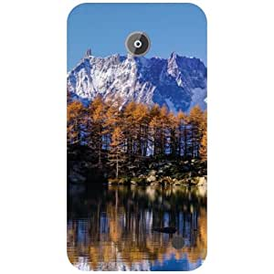 Nokia Lumia 630 Back Cover - Hills give us water Designer Cases