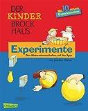 Der Kinder-Brockhaus: Experimente: Den Naturwissenschaften auf der Spur