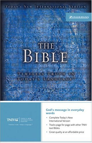 The TNIV Bible: Timeless Truth in Today's Language(TM) (Today's New International Version)