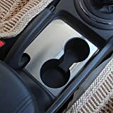 Trudged(TM) For KIA Sportage R 2012 2013 2014 2015 water cup decorative cover Stainless Steel car styling