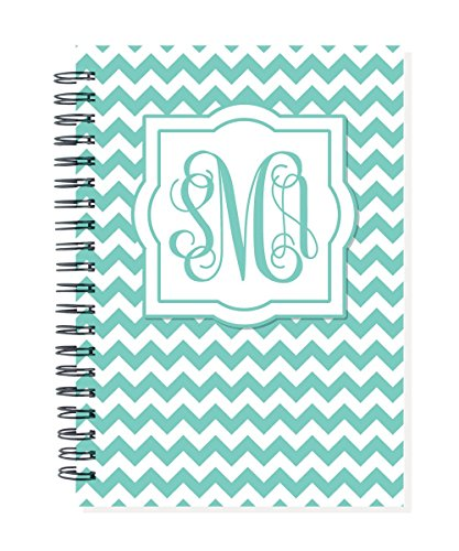 2016 18-month personalized planner or calendar with your initials on cover, start any month and year, choose color for cover