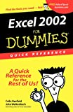 Excel 2002 for Dummies Quick Reference (0764508296) by Banfield, Colin