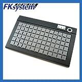 エフケイシステム POSプログラマブルキーボード USB接続 ブラック PKB-078U