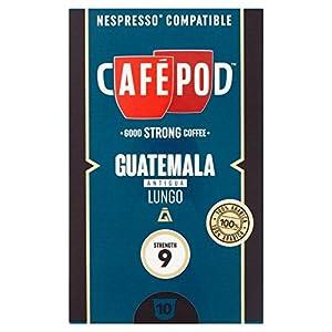 Choose CafePod Origins Guatemala Nespresso Compatible Capsules 10 per pack - CafPod