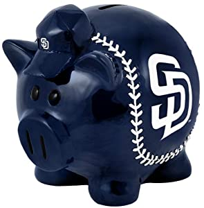 MLB San Diego Padres Large Thematic Piggy Bank by Forever Collectibles
