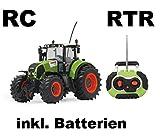 RC ferngesteuerter Traktor Claas Axion 850 Maßstab 1:16 passend zu den Bruder Anhänger - NEUHEIT inkl. allen Batterien RTR  Sofort Spielbereit - LIZENZ NACHBAU in bester Qualität