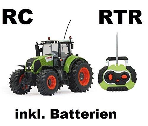 RC-ferngesteuerter-Traktor-Claas-Axion-850-Mastab-116-passend-zu-den-Bruder-Anhnger-NEUHEIT-inkl-allen-Batterien-RTR-ready-to-run-Sofort-Spielbereit-LIZENZ-NACHBAU-in-bester-Qualitt
